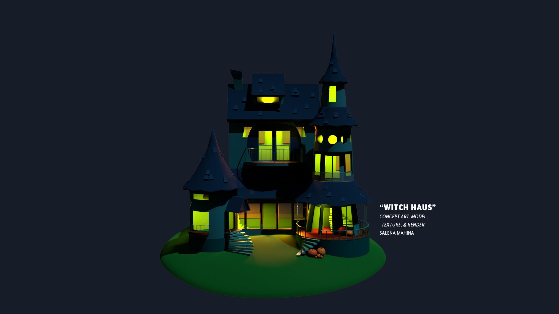 Salena mahina haunted house 4