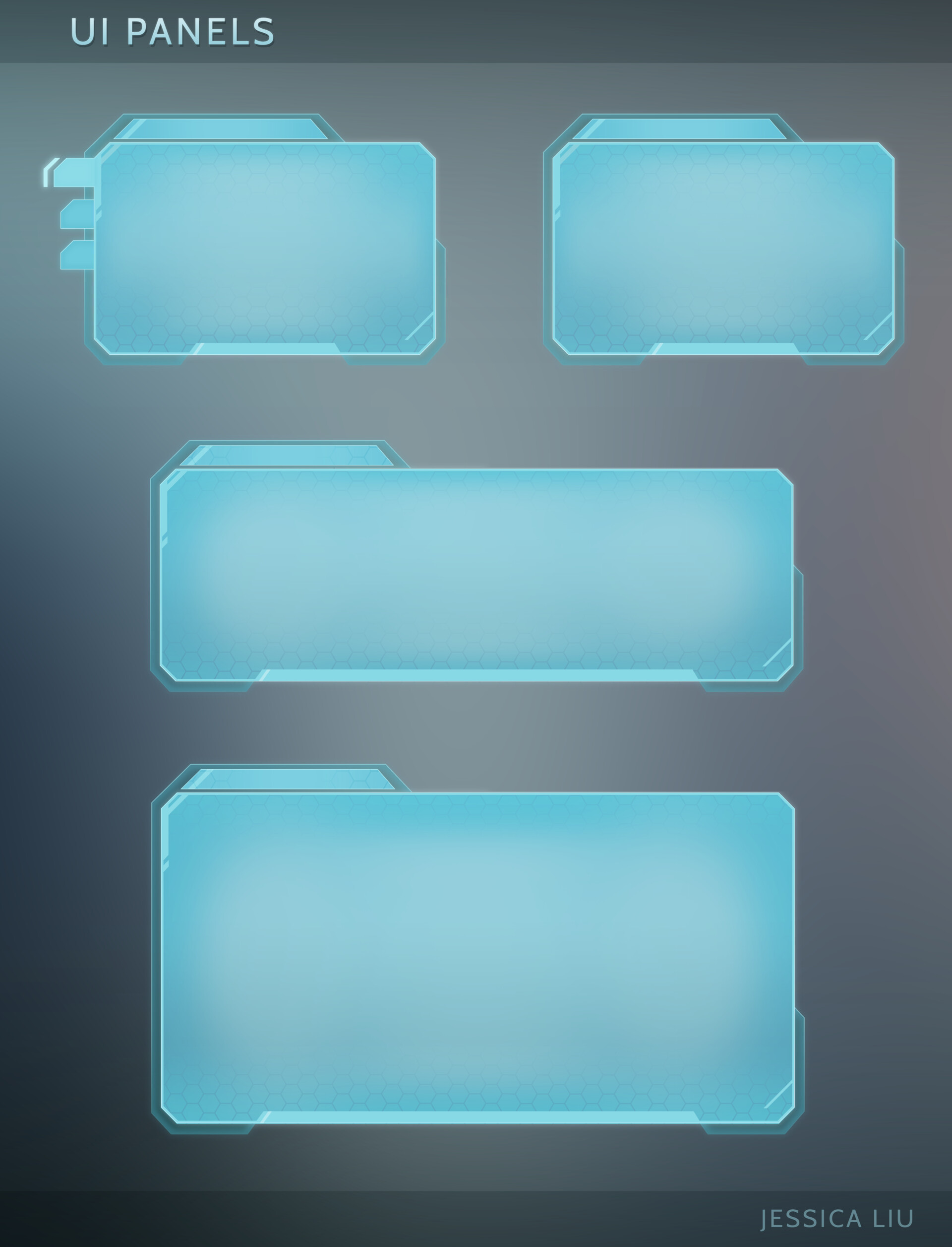 Varying UI panel sizes