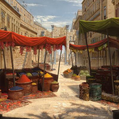 Jasza dobrzanski middle east market