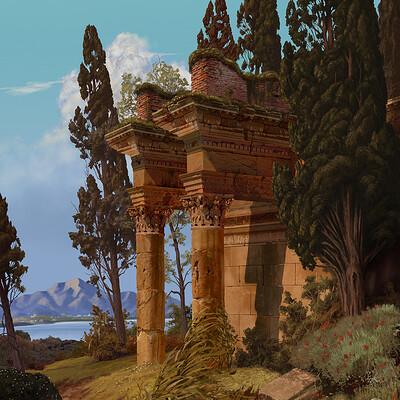 Giorgos tsolis roman ruins small