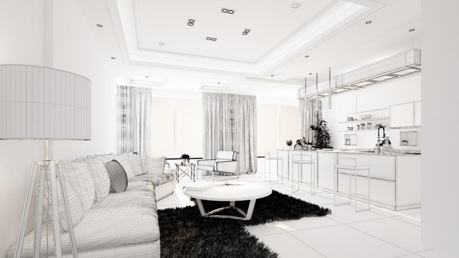 Interior Design Whites