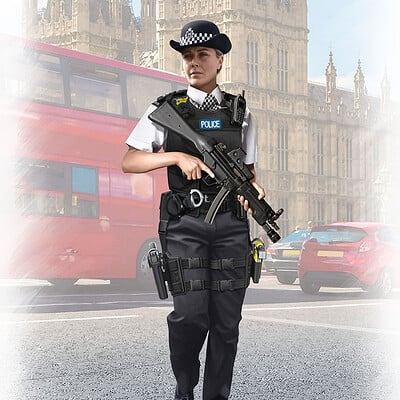 Valery petelin british policewoman