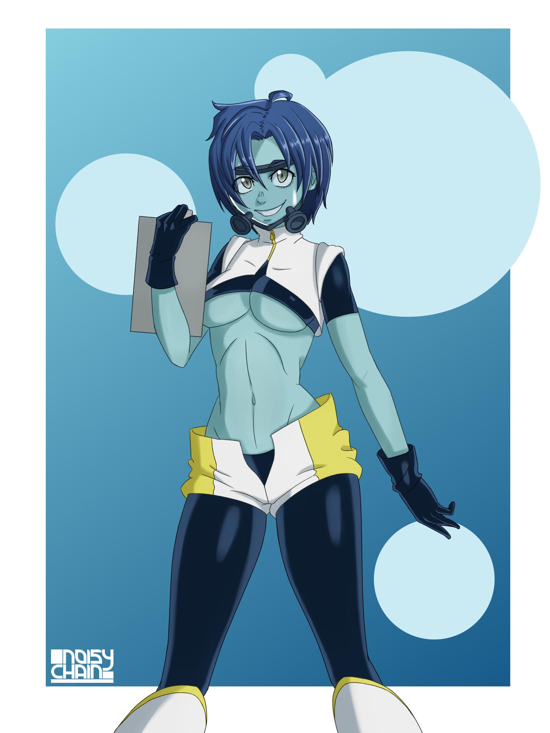 artstation - bubble girl