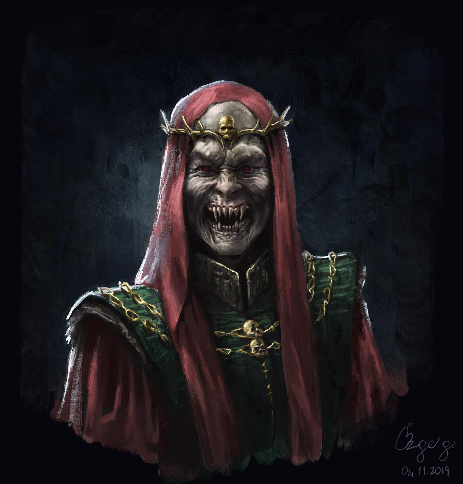 Vampire Necromancer AGNON