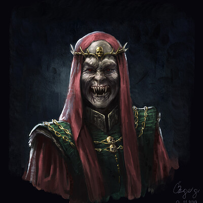 Ozge gungor vampire necromancer