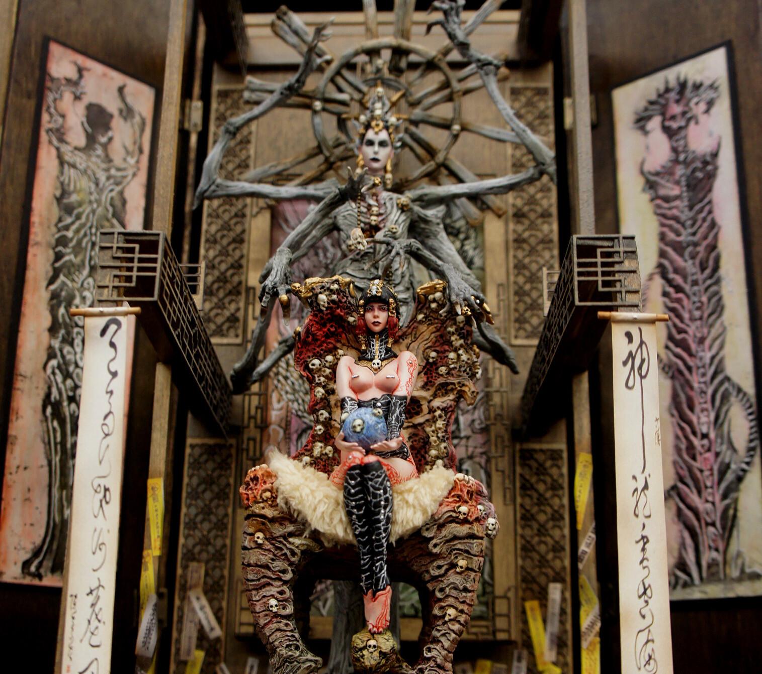Dakini Advent Art Statue