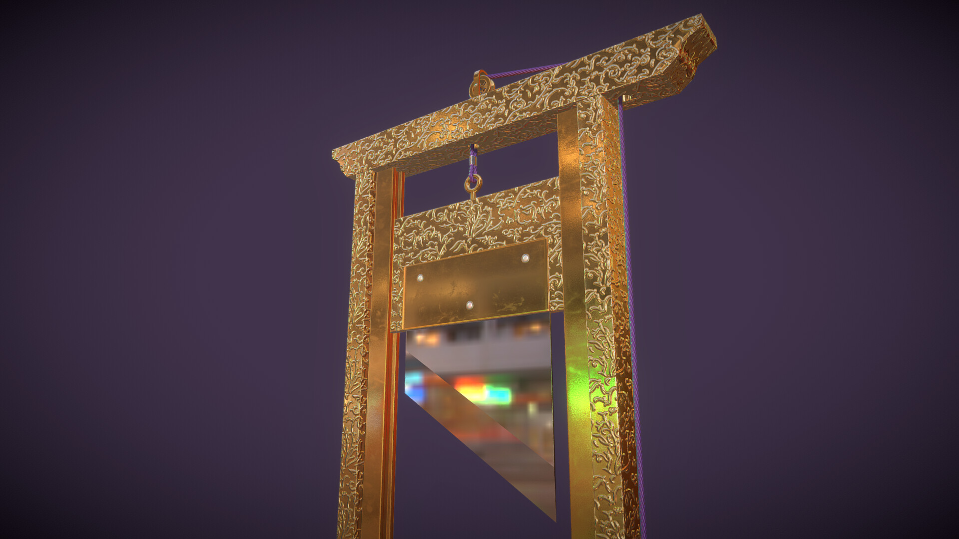 Laurie annis gilded guillotine 6