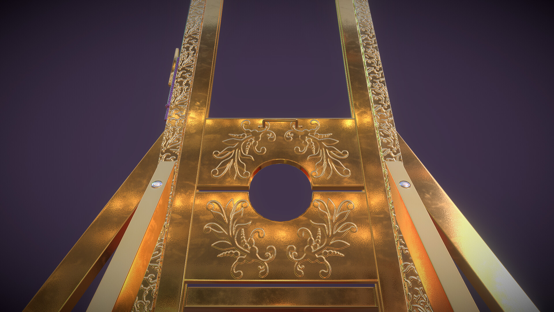 Laurie annis gilded guillotine 2