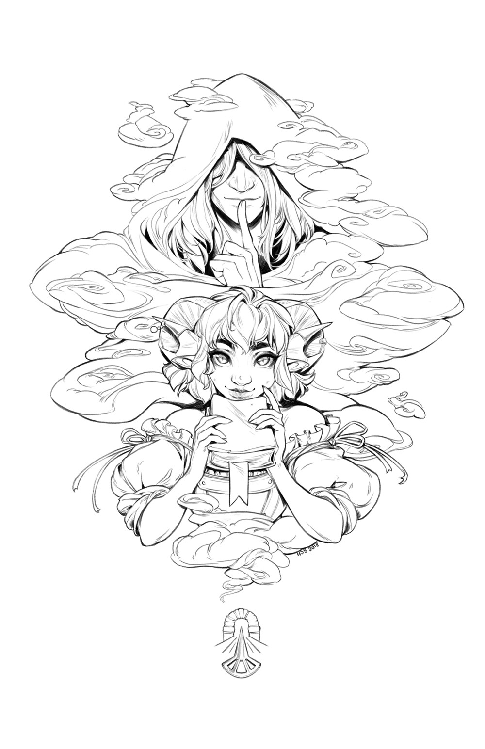 Hunter bonyun critrole charms jester