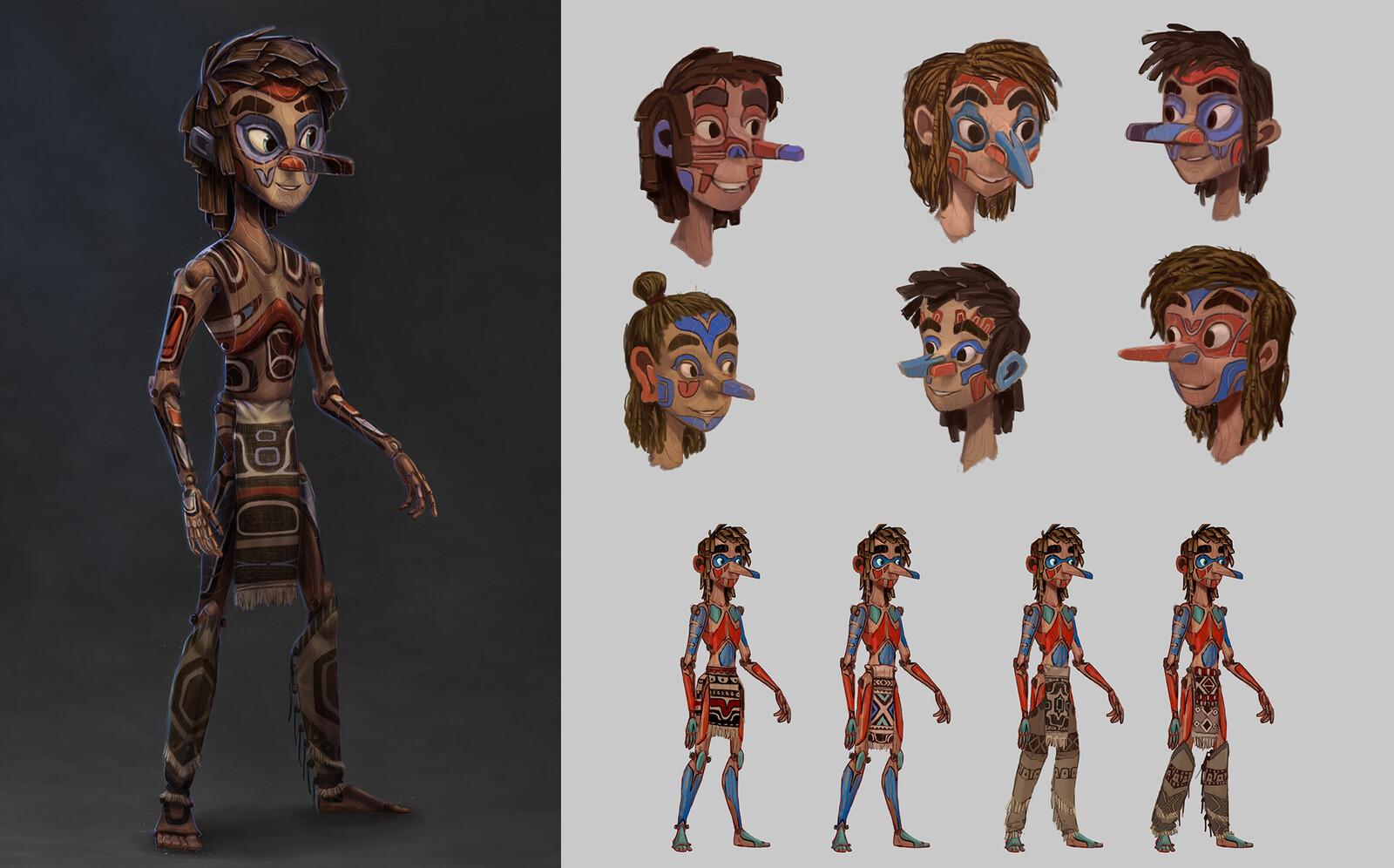 Pinocchio Redesign