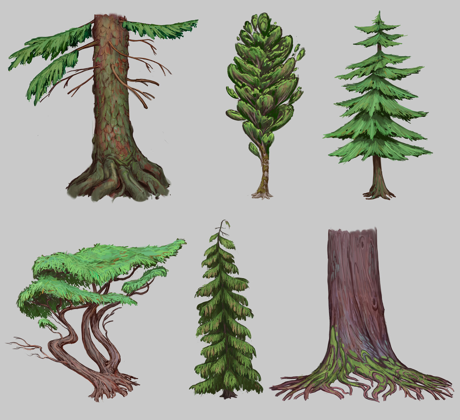 Pinocchio: Tree Designs