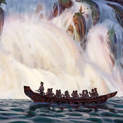 Pablo rivera pablo rivera waterfall 1