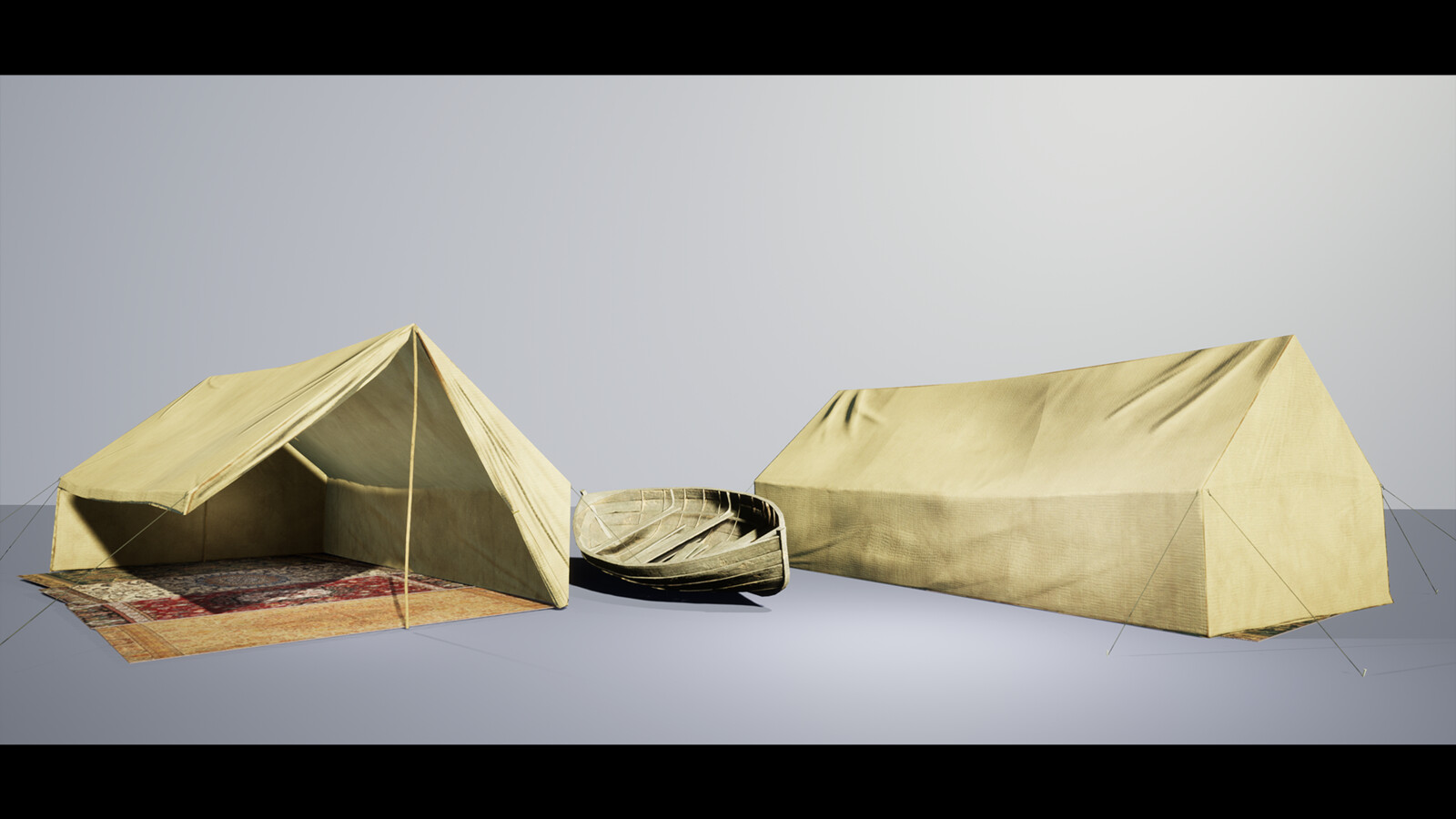 Tent+Boat Breakdown