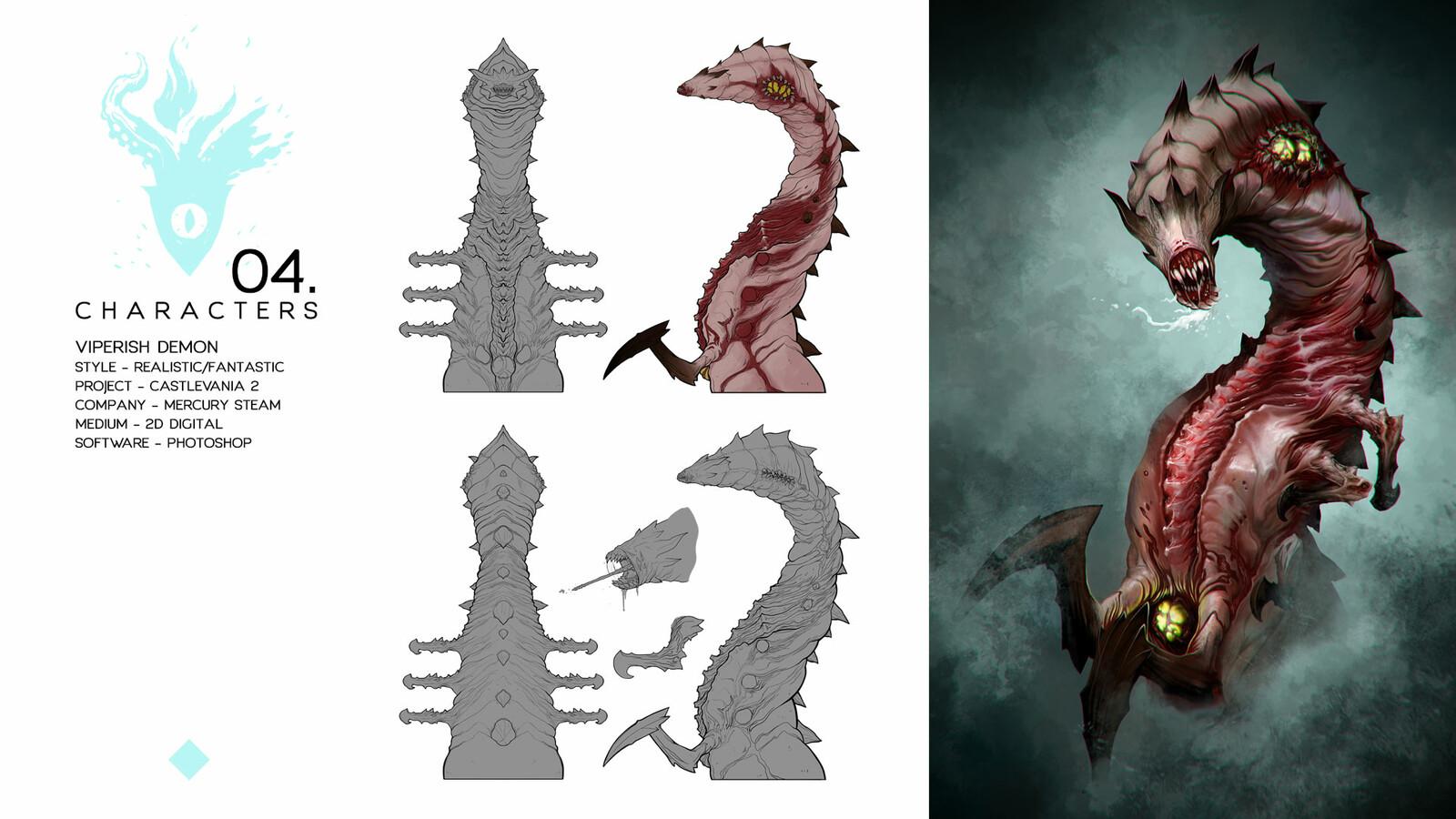 Viperish Demon - Castlevania Lord of Shadows II