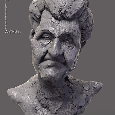 Surajit sen arthur digital sculpture surajitsen nov2019