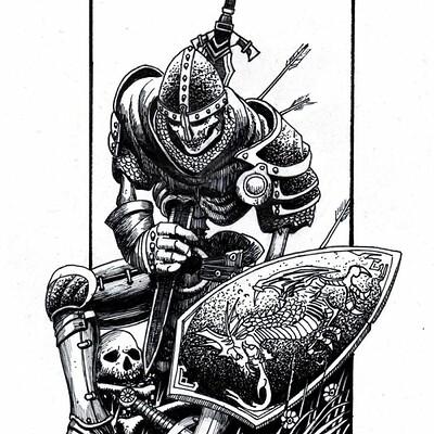 Tomek pilarz knight art