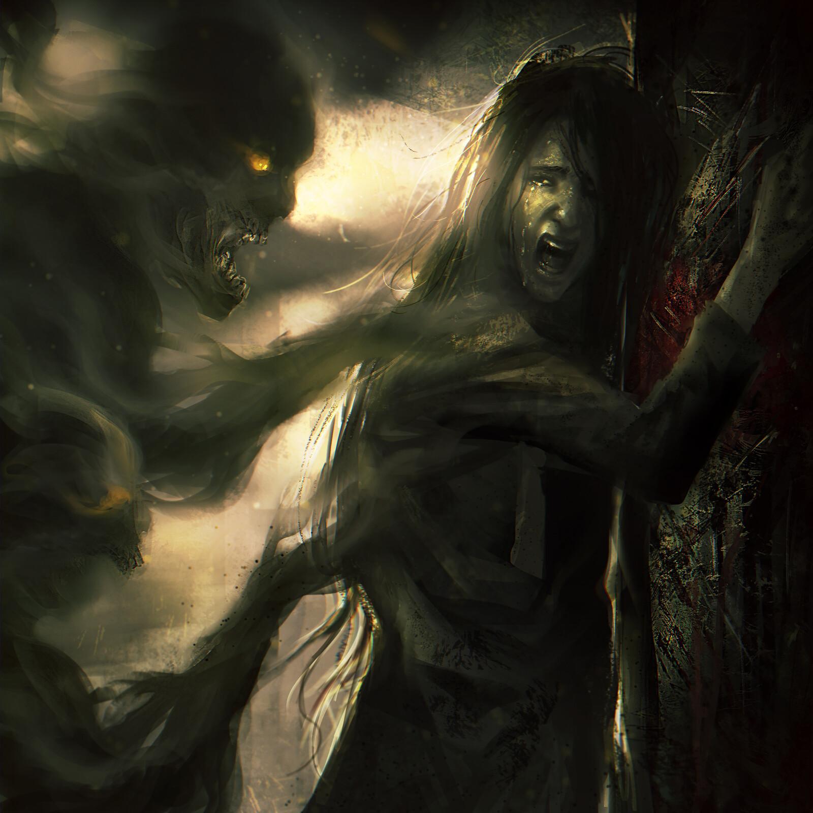 Asylum Walls-Dark Eternal Future Album booklet Art