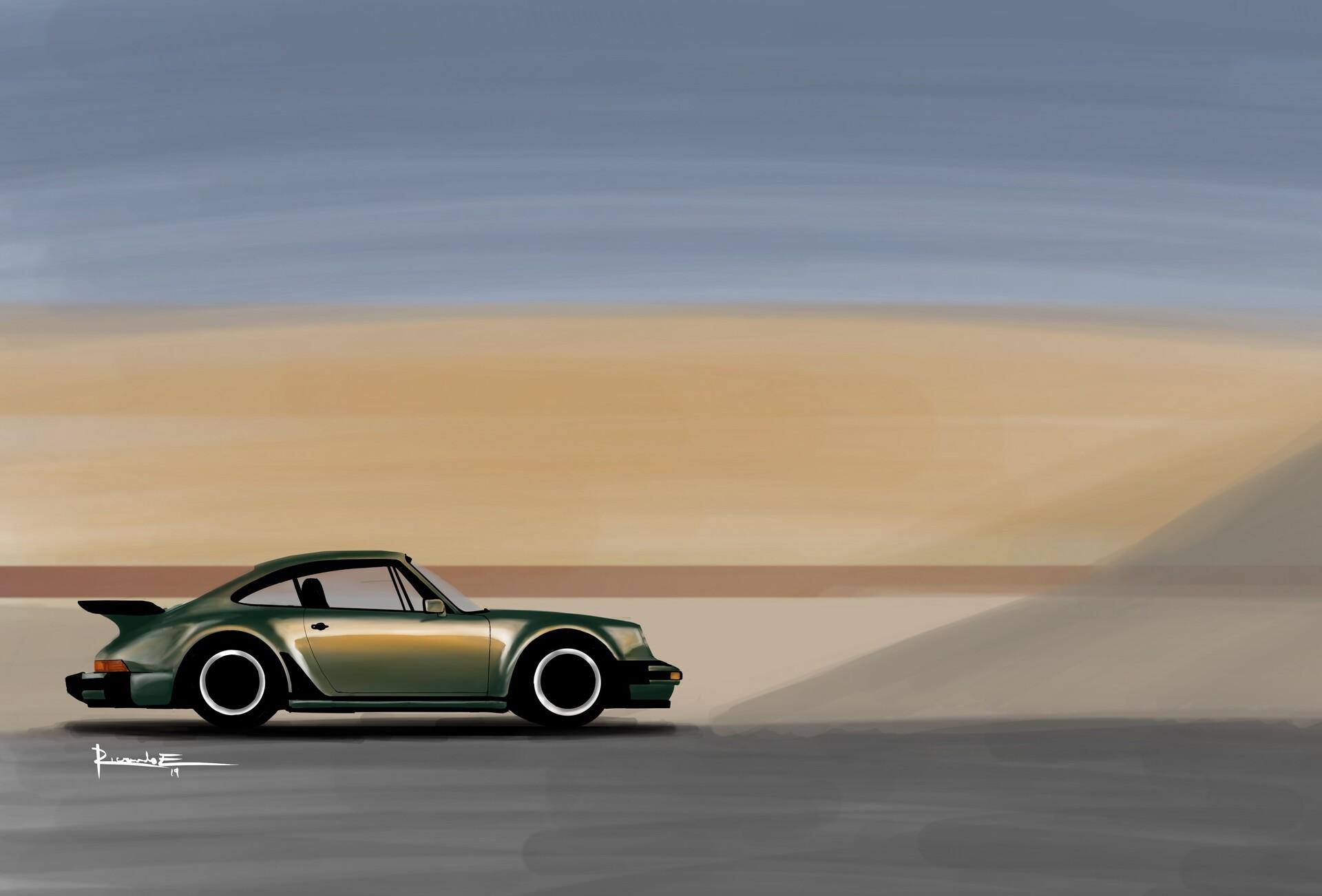 Ricardo Echeverria 1980 Porsche 911 Turbo