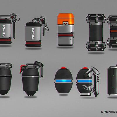 Benedick bana grenade design lores