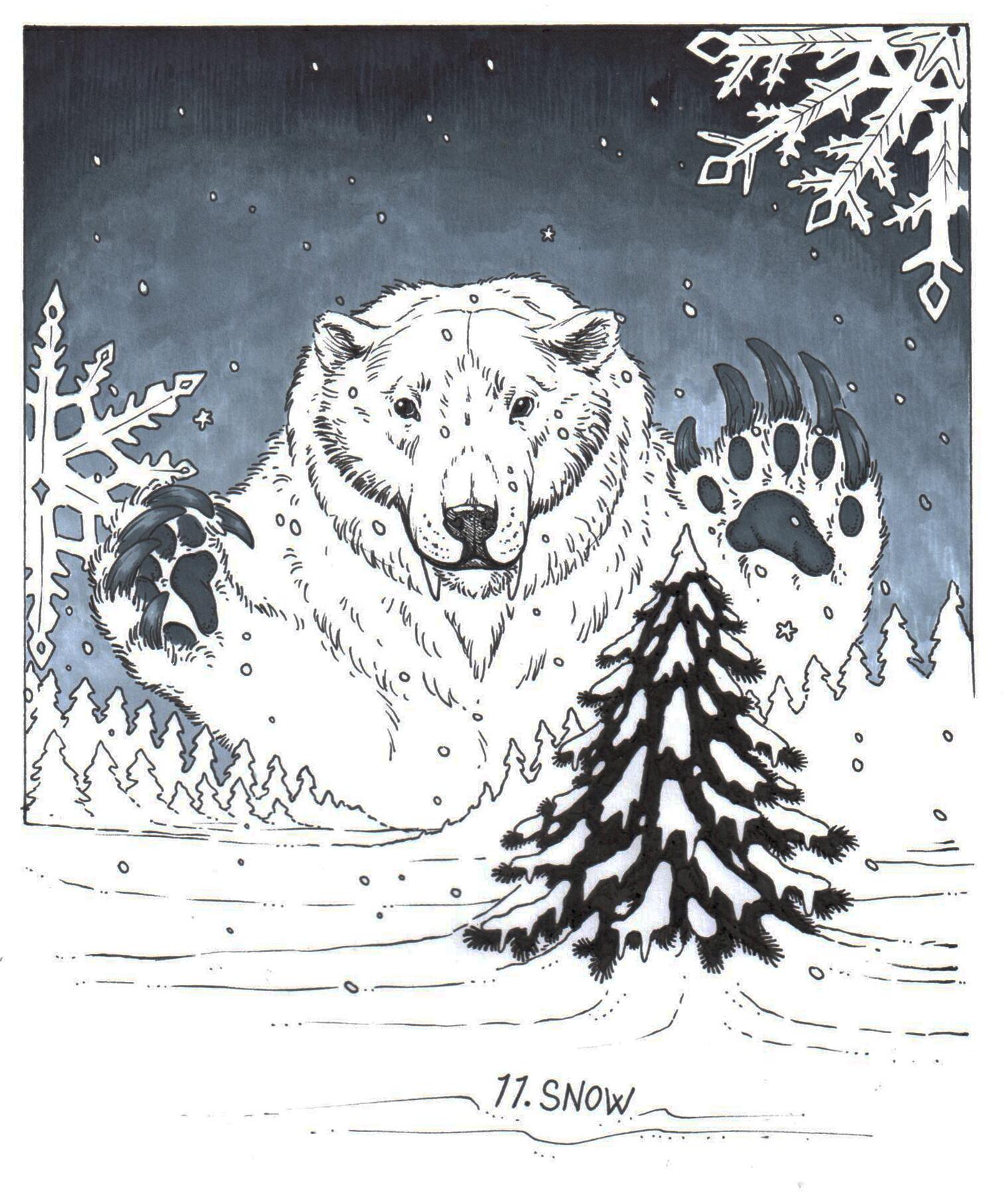 Meagen ruttan 11 snow
