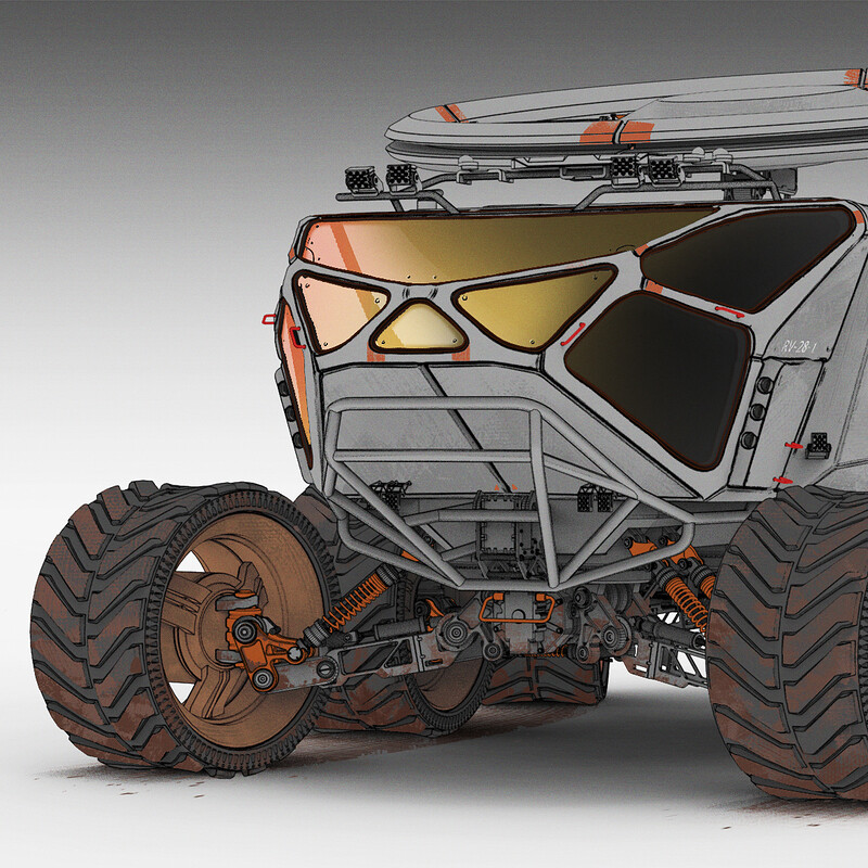 Mars - Rover