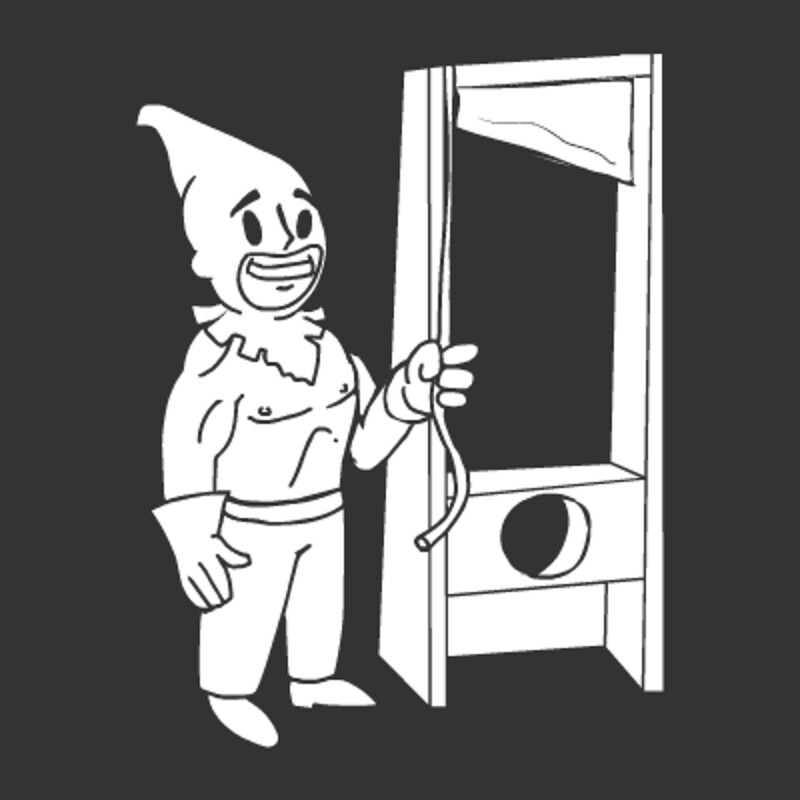 Fallout 4 Sim Settlements Conqueror Pip Boy Icon - Executioner Perk