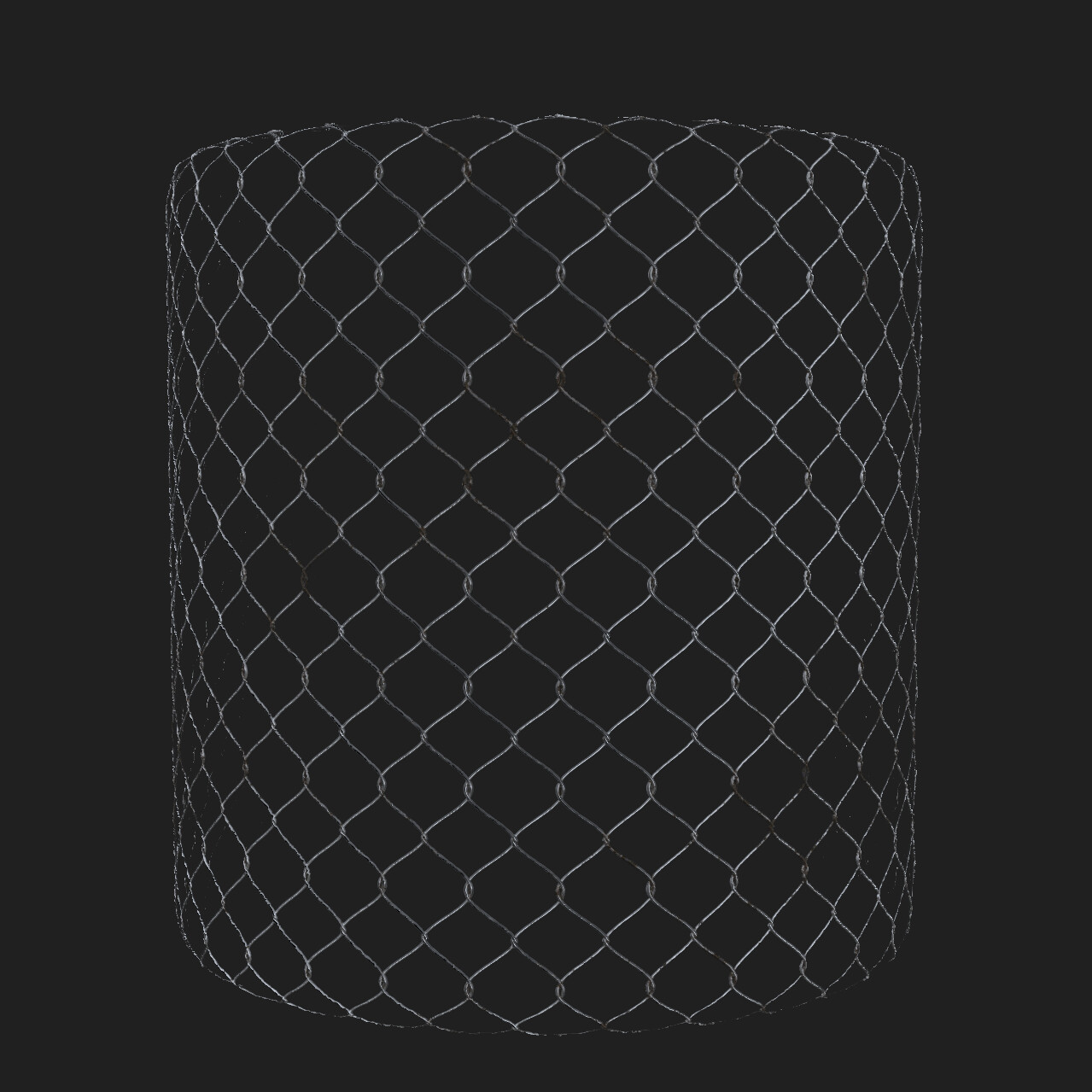 Rusty Chain Link Shader