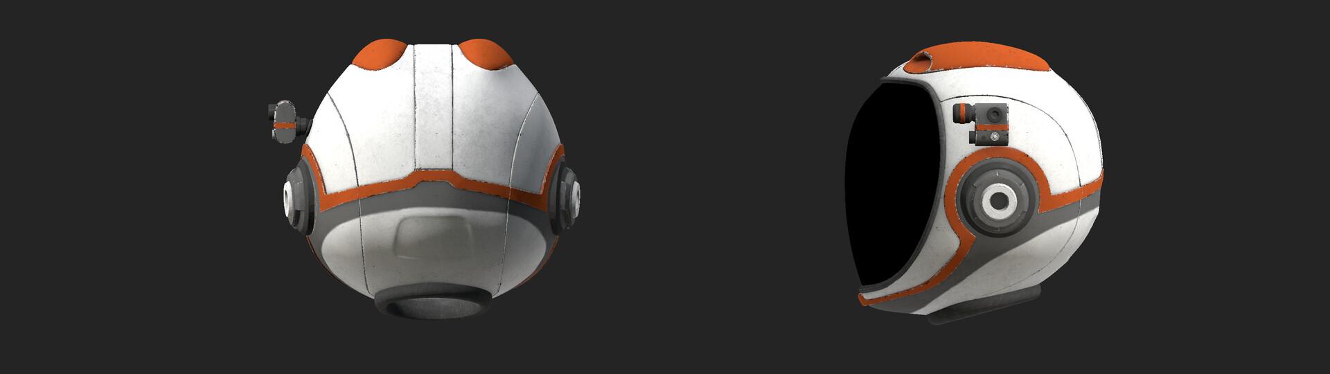 Oscar trejo texture helmet