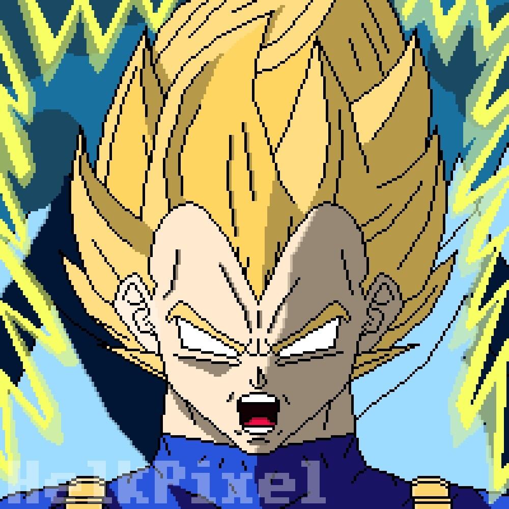 Vegeta Super Saiyan Rage