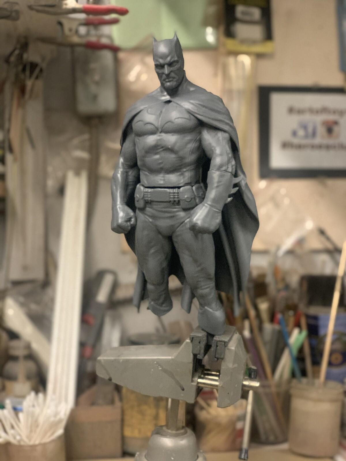 The Dark Knight Collage work in progress