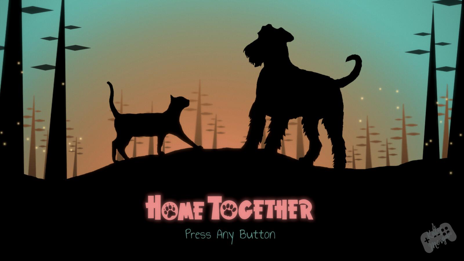 Home Together Menu - Made with Photoshop.