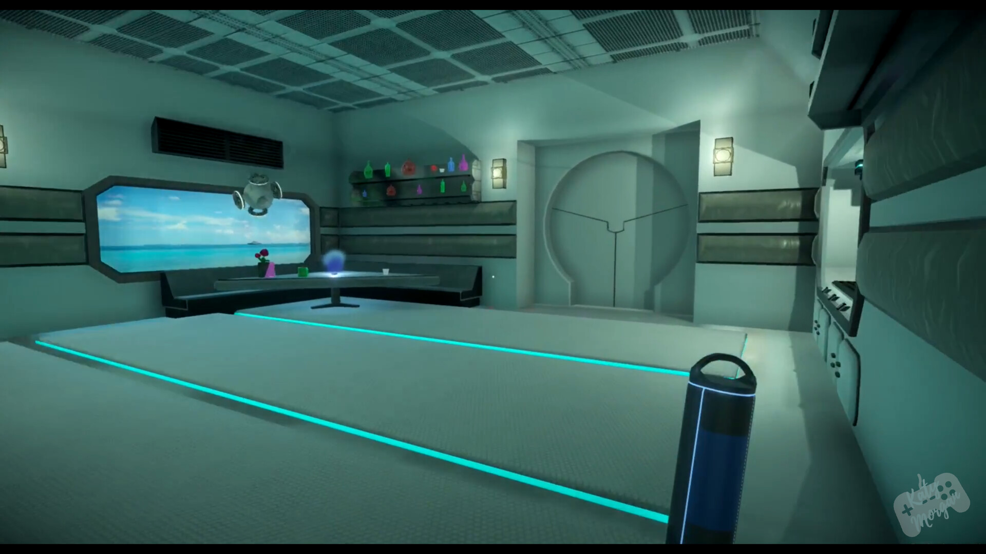 Space Kitchen - everything you see made in Maya by myself apart from capsule which was made by Jack Kheir.