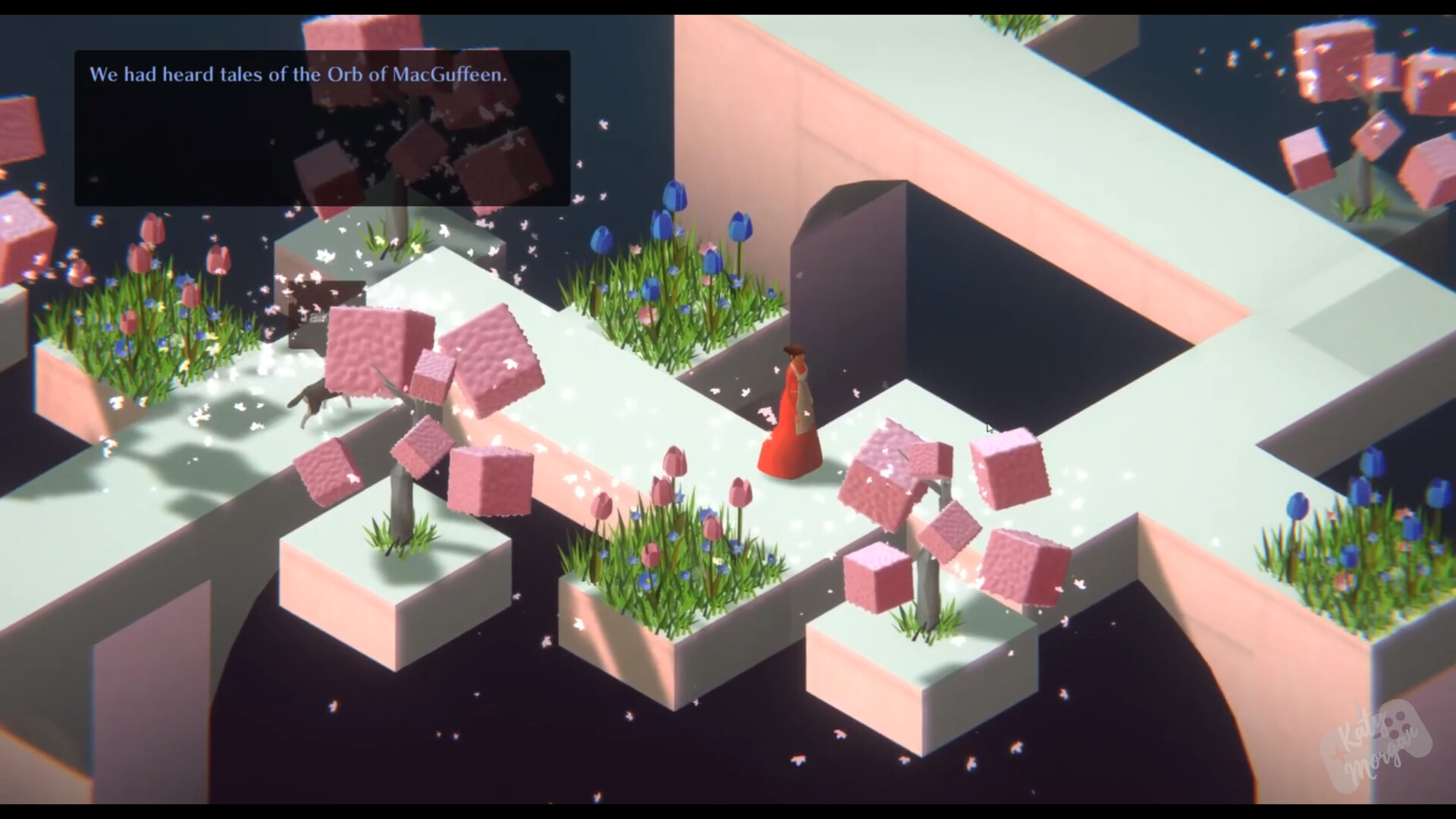 Spring setting. All 3D assets seen here are made by myself.