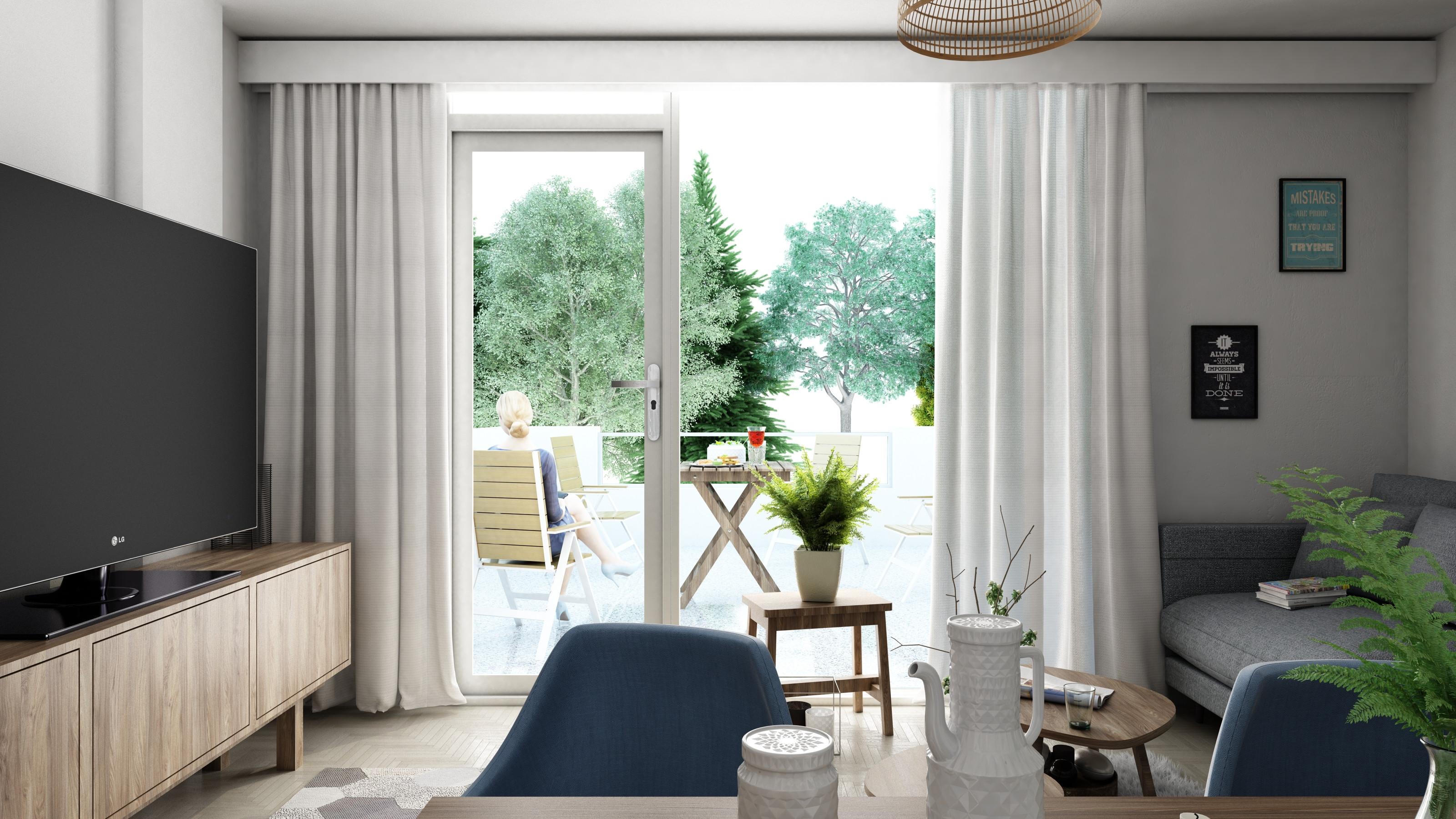 Living room right side