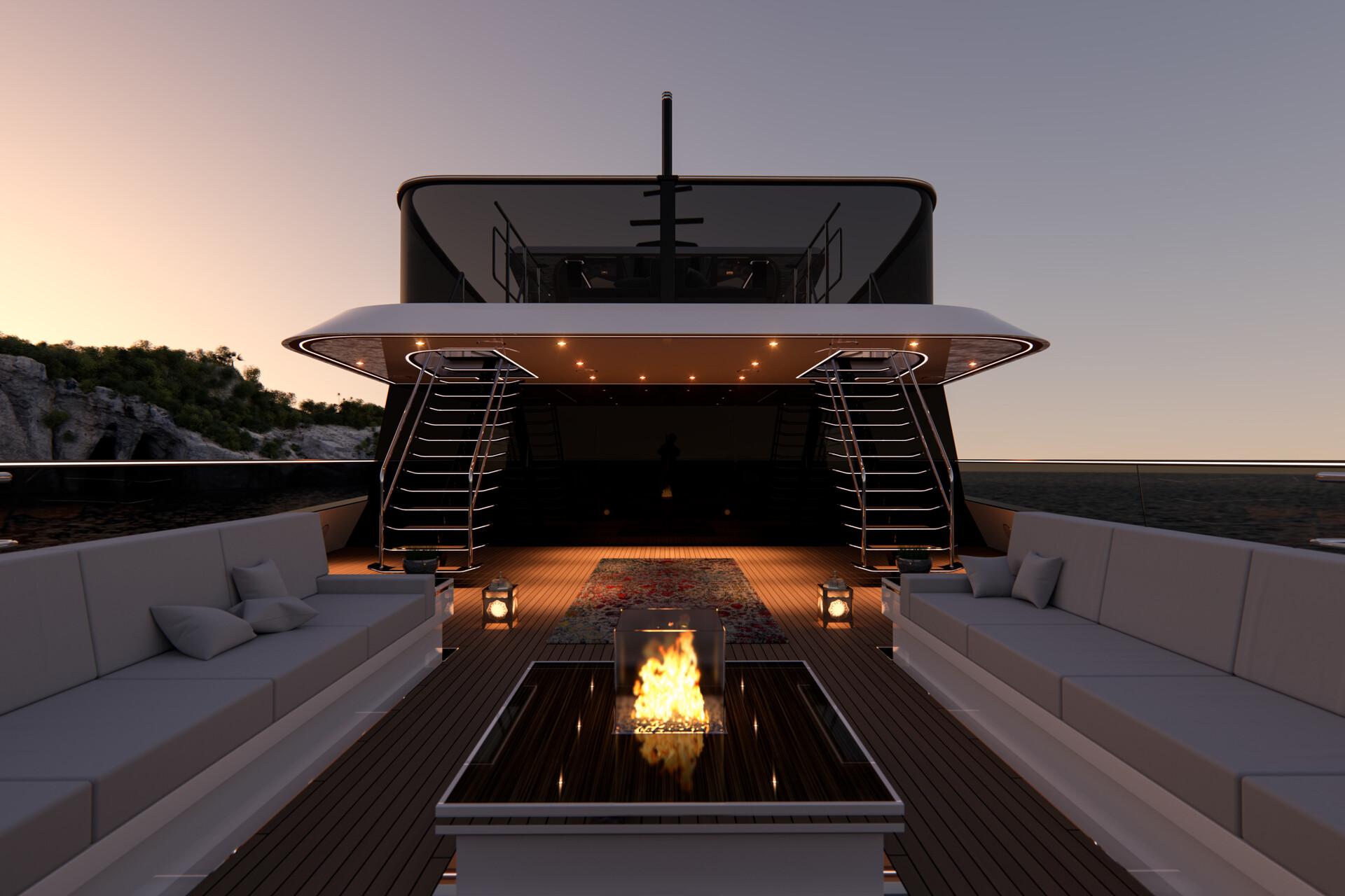 G250: Bridge deck aft.