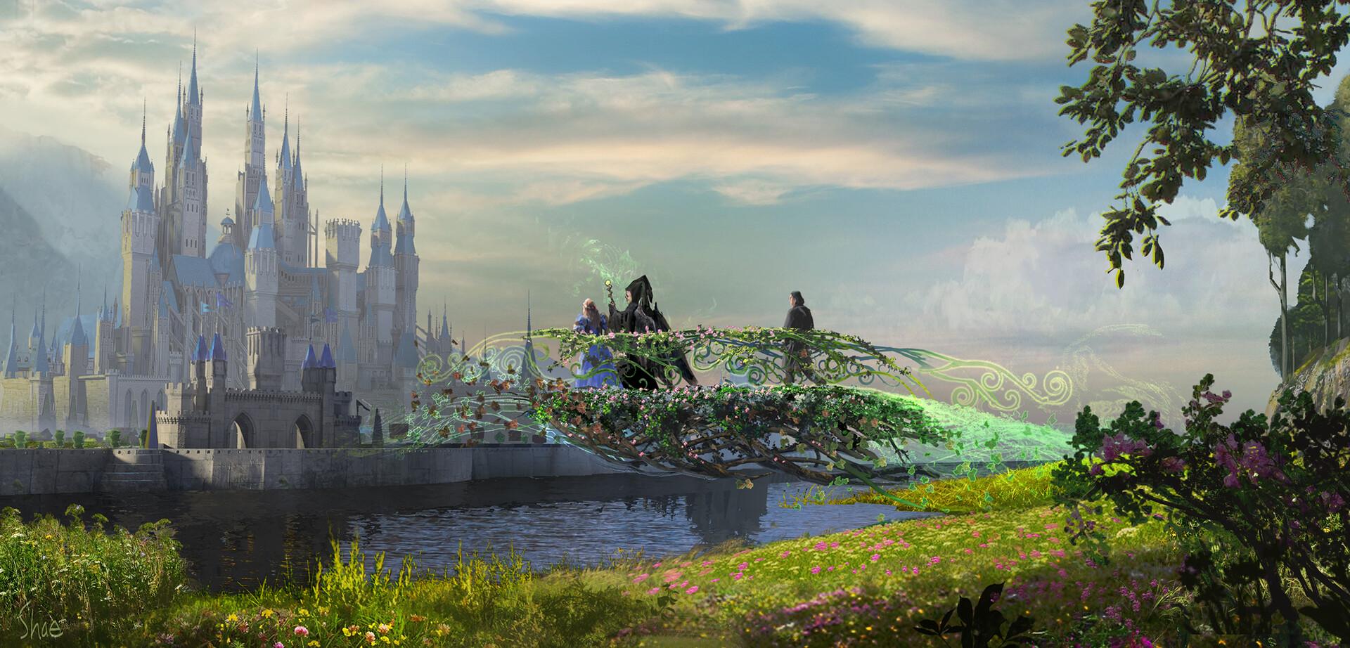 Maléfique : Le Pouvoir du Mal [Disney - 2019] - Page 13 Shae-shatz-20191108-maleficent2-bridgea-conceptartshaeshatz