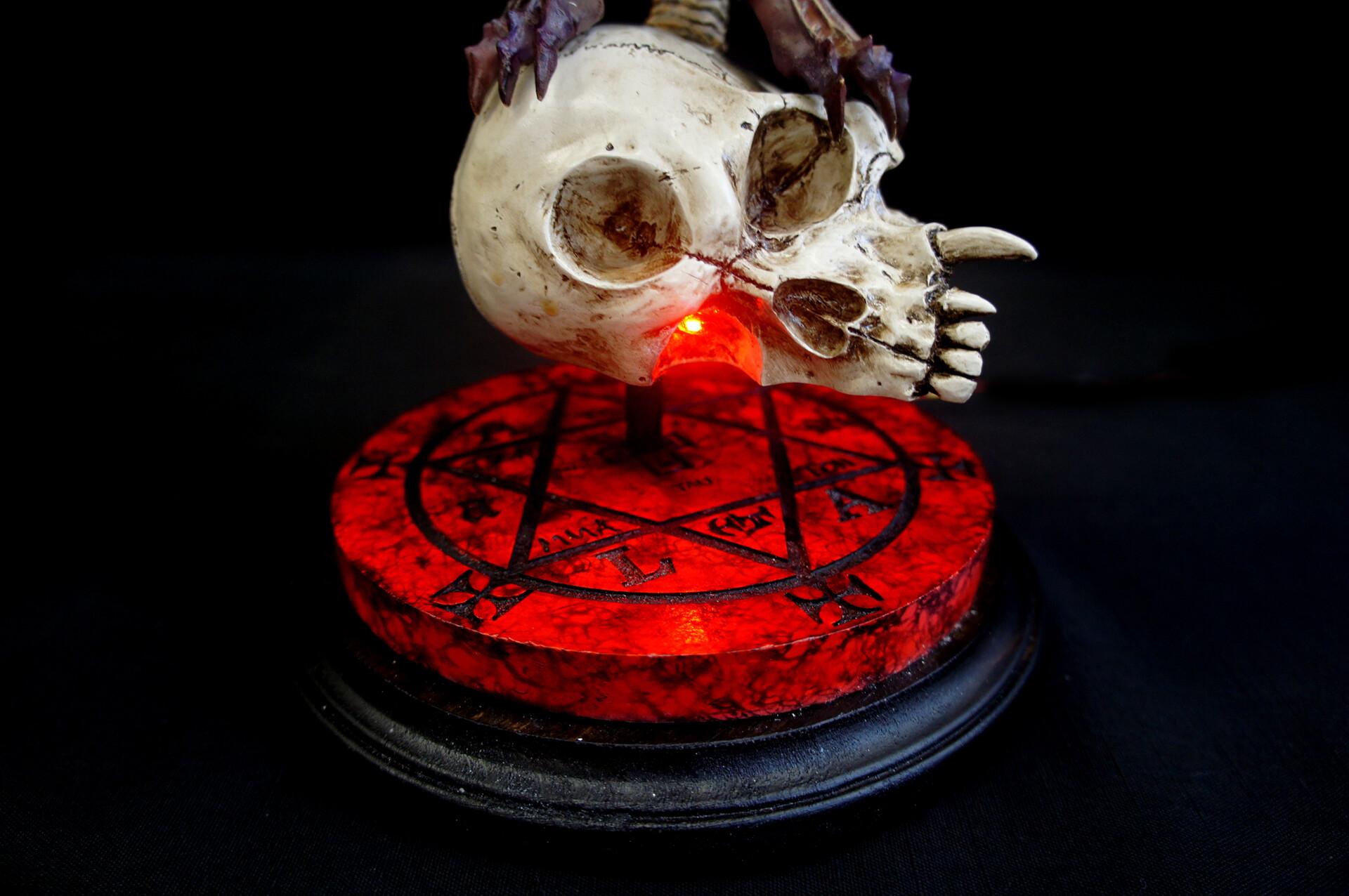 アモン デビルマン黙示録 + 魔法陣ベース ワ 1:6 レジンキット Apocalypse of Devilman : Amon