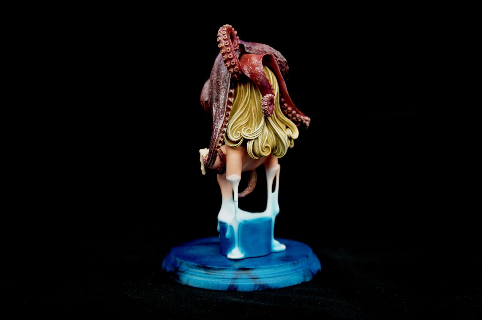 Sorrow Octopus  Art Statue  哀ちゃん