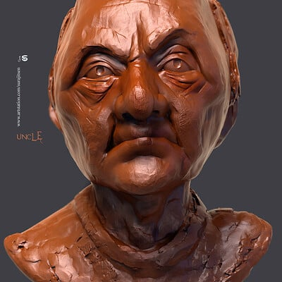 Surajit sen uncle digal sculpture surajitsen nov2019