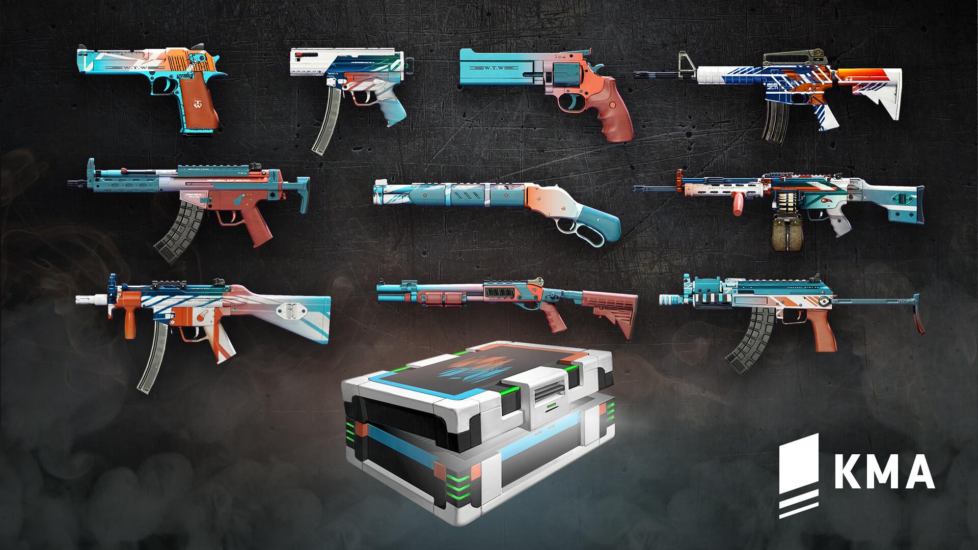 Jordan moss weapon skins kma