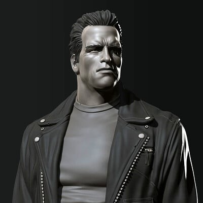 David ostman t800 bust t 01