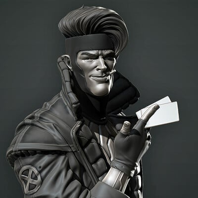 David ostman gambit bust 001