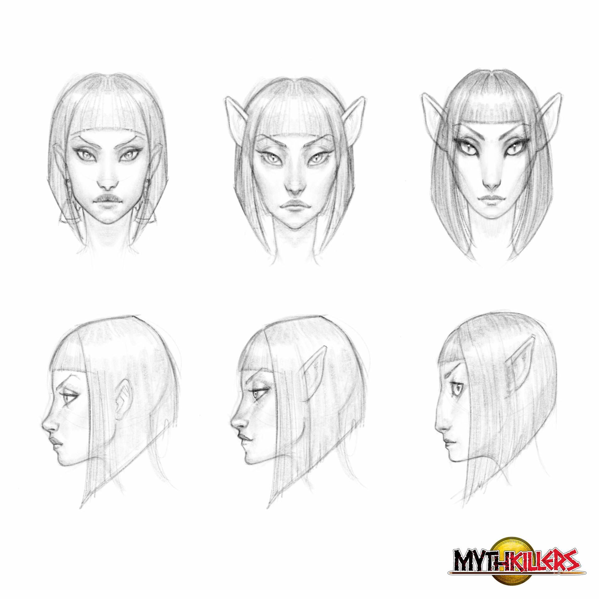 head designs