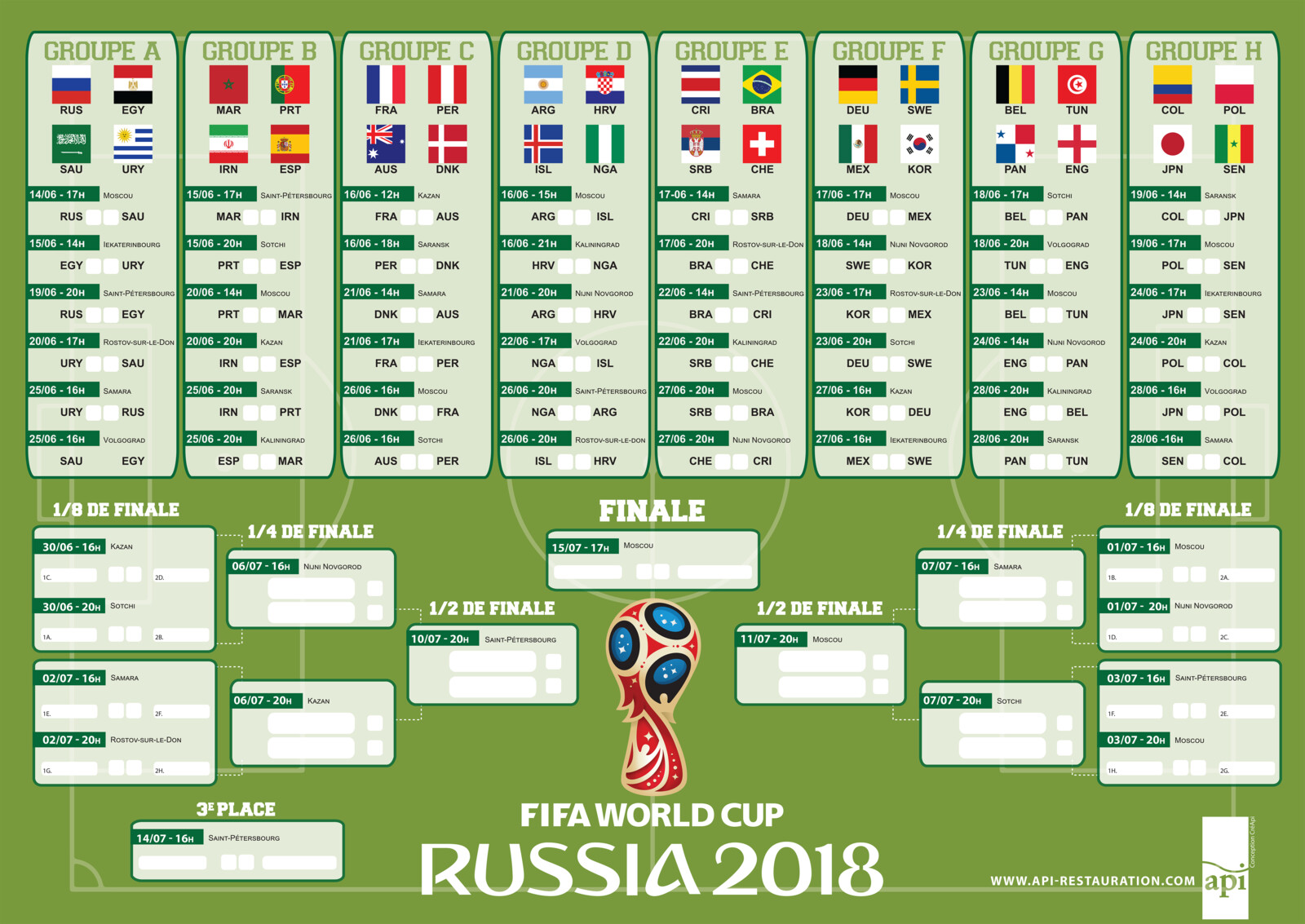 PRINT / FIFA WORLD CUP 2018