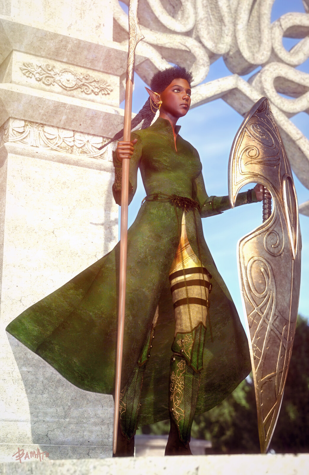 Sun-Elf Guard (Rebooted)