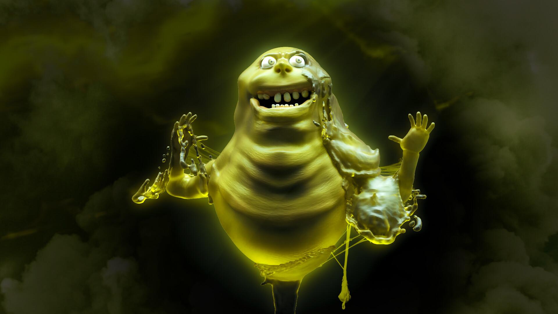 SLIMER (Ghostbusters)