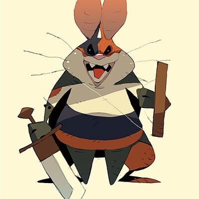 Satoshi matsuura 2019 11 06 rodent bandit s