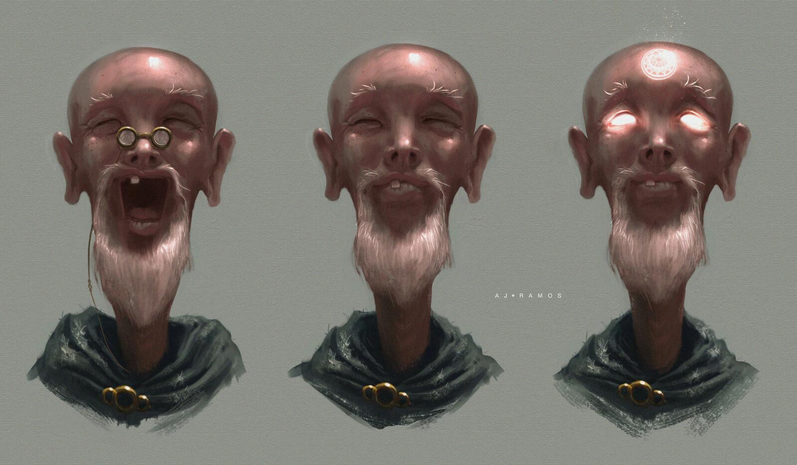 Elder Arcane Mage | Concept