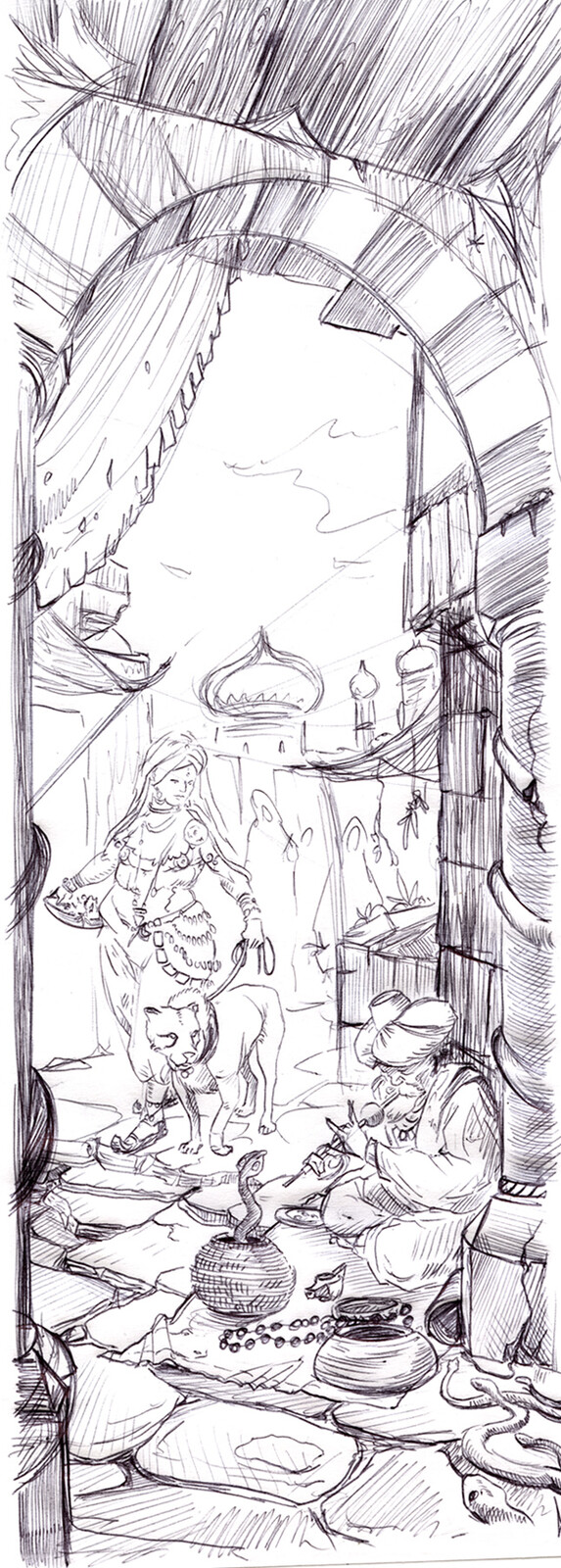 Ballpen Sketch