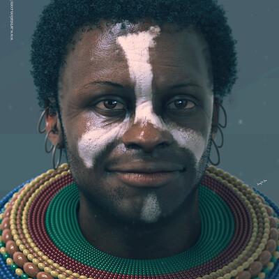 Surajit sen akwas african tribal cg character surajitsen nov2019